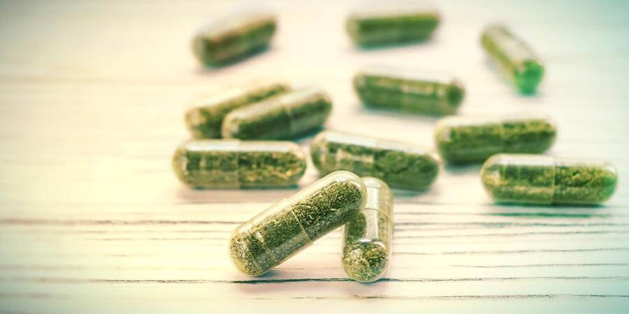visualizes psilocybin microdose capsules